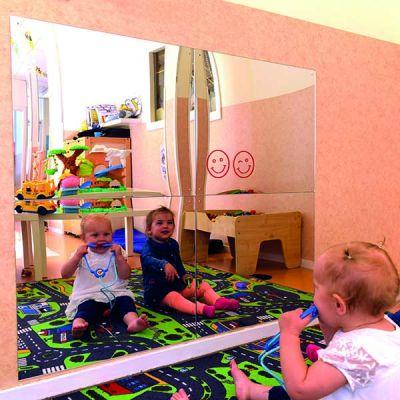 Barnesikker speil
